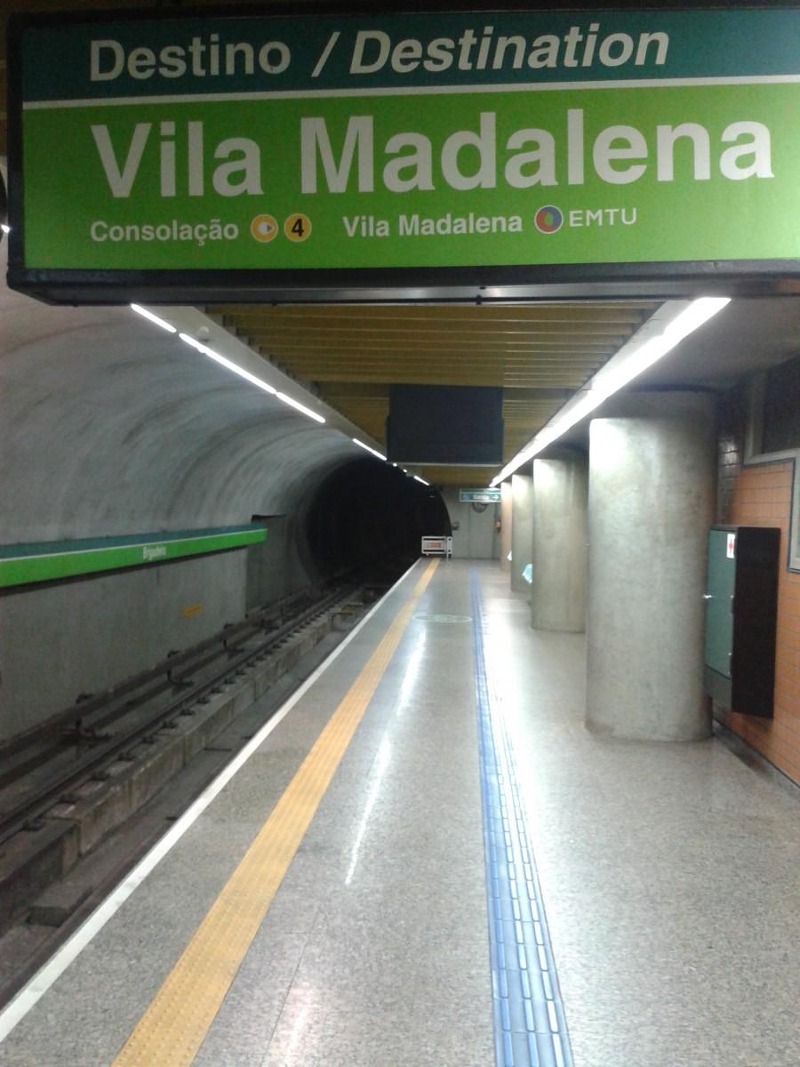 Metrô Tales Vila Madalena