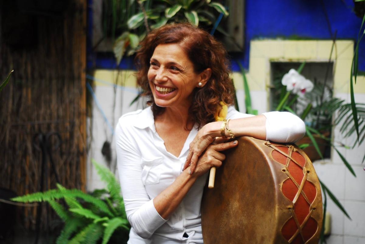 monica jurado meditação com tambores